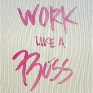 Other - WORK LIKE A BOSS.  INITIATE THE OFFER👏🏻❤️